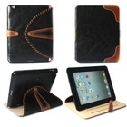 2014 hot sell genuine leather tablet pc cover case for 9.7 inch PAD2 3 4 tablet pc
