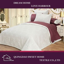 Colourful And Polyester Bedspread New Products