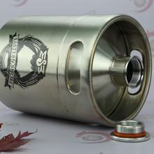 64OZ mini keg bottle for craft beer draft vessel gift