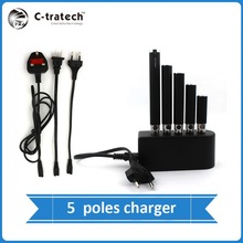 multi poles ego charger,5 poles charger for saving time and extend battery life