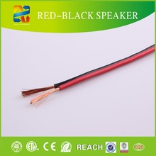 China Hotselling High End Red and Black Monitor Audio Speaker Cable