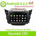 androide capacitivo 2 din per hyundai i30 dvd con 3g wifi