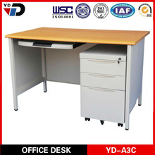 2014 office furniture prices/ Hot Sale Modern Cheap Price Steel Computer Desk Table