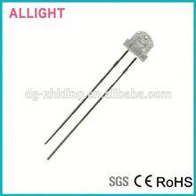LED PCB thick edge amber straw hat 5mm led