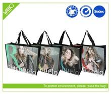brasil laminated non woven bag eco/famous brand shopping bag