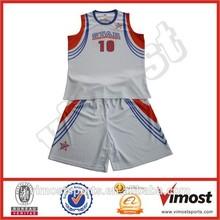 custom polyester mesh basketball jersye school boy / custom factory
