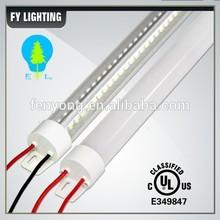 Unique Design V shape 180 degree high lumen 4ft freezer led tube light T8 100-277Vac DLC, UL ,cUL Certificates