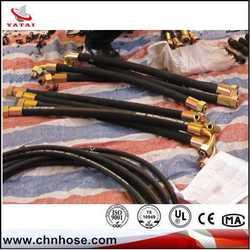 high quality custom manufacturer hydraulic hose sae 100 r1 r2 3/8