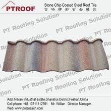 textured metal roofing