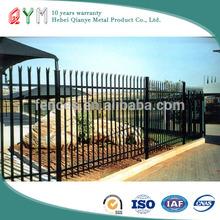 D profile palisade fences and gates