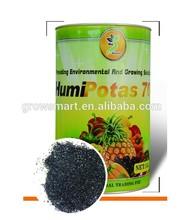 water soluble humic acid series -super potassium humate flakes
