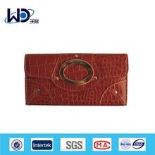 Ladies fashion branded genuine leather wallet