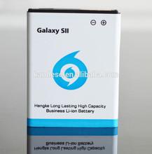 Factory wholesale 3.7 volt li-ion battery EB-F1A2GBU for samsung galaxy s2 i9100
