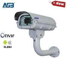 Full HD CCTV 1080P 2.0 Megapixel Car plate License IP camera