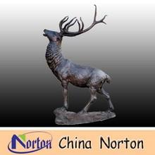 large bronze deer statues for sale NTBA-DE009