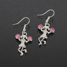 Lead & Cadmium Free Cheerleaders Fashion Dangle Earring