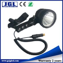 Unique model!Handheld led hunting spotlights 12v cigar lighter -JG-NFL120-25W