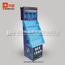 ball/pencils cardboard retail floor stands display