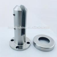 Frameless pool fence stainless steel round face fix glass spigot RBM-2