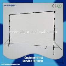 WB-LSCC-Dj Booth Deck Curtain 4mx6m RGB Dj Stand Curtain