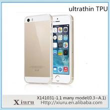 Ultrathin soft case for xiaomi mi3 tpu cell phone skin back cover