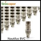 2014 Hot selling original Aspire Nautilus Coils head in 1.6/1.8 ohm stock offering