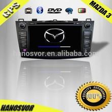 China Factory car radio for mazda 3 with Bluetooth Radio DVD SD USB Mazda 3