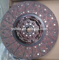 high quality clutch disc DZ1560160012 for shacman f2000 f3000 truck