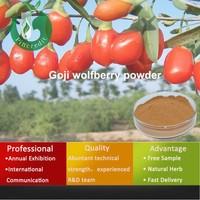 Manufacturer wolfberry extract organic goji berry powder