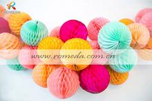 ****Mix Colors***Low MOQ***Best Quality Paper Honeycomb Ball Garland