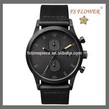 FS FLOWER - European Hochwertigem Leder Herrenmode Uhren