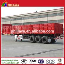 box semi truck trailer for bulk cargo carrier transportaion