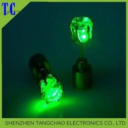 Earrings, Flash Earrings, Light Up LED Earring for party