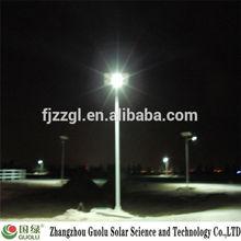 solar post 15w led meteor rain light New
