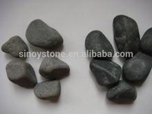 landscape stones lowes black river rocks glow in the dark pebbles