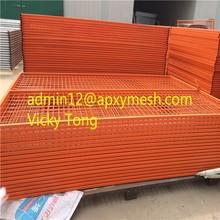 orange fence net