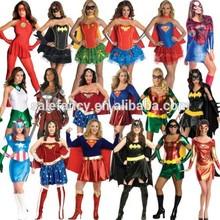 super hero costume woman super hot sexy women halloween costume AWC-2465