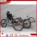 liga de alumínio quadro triciclo de duas rodas dianteiras