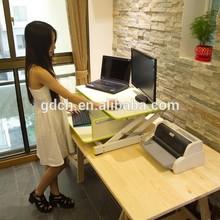 Commercial/office desk folding portable standing laptop table