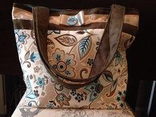 Smart Design Floral Design Bags High Quality Handbag Ladies HD0647