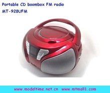 Portable Boombox radio CD player with USB slot
