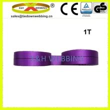 1T flat woven sling webbing