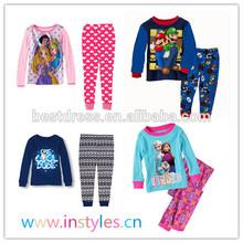 Walson isntyles frozen sleepwear frozen elsa and anna night clothing
