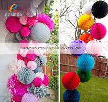 ****Mix Colors***Low MOQ***Best Quality Paper Honeycomb Lanterns