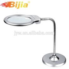 2X LED light lamp magnifiers desktop magnifier