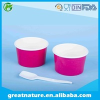 4oz Branded frozen yogurt tubs