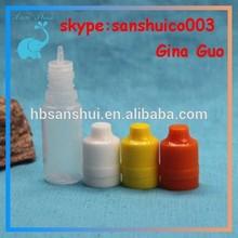 manufacture15ml needle tip plastic dropper bottle 20ml E-Cigarette bottle 10ml 15ml PE Plastic Dropper Bottle Plastic Essence