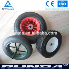 14inch diameter solid wheel rubber wheel barrow wheel