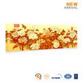 Caliente venta del colgante de pared hermoso canvas art flower pictures