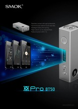 new products indian market hot selling 18650 battery box mod Smok Xpro BT50 bluetooth function App approved